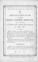 Henri-Joseph Dewitte