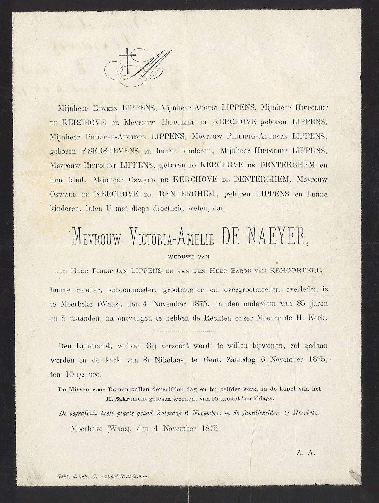Victoria-Amelie De Naeyer