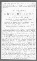 Leon-Emiel De Boes