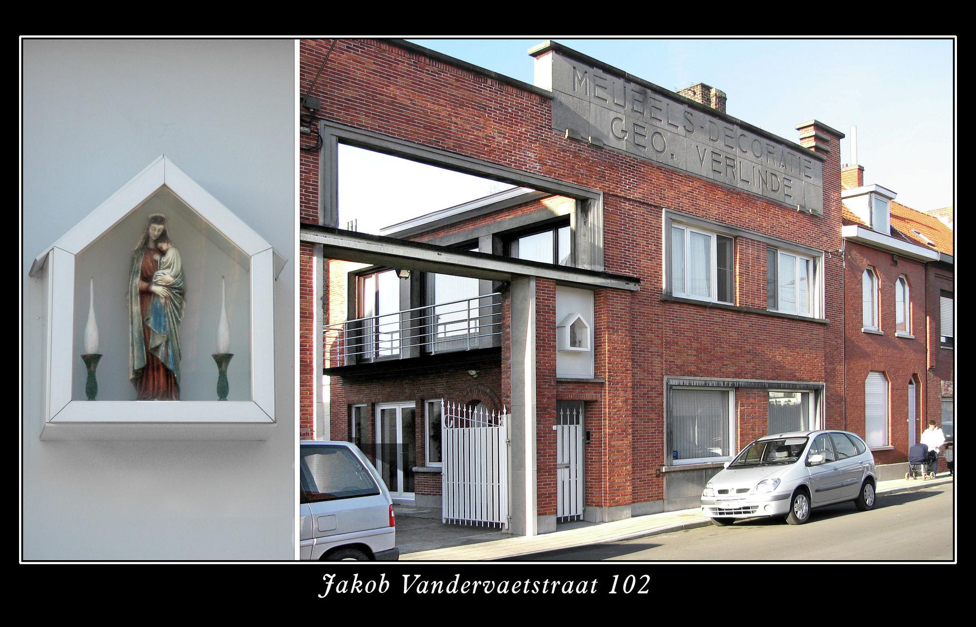 Jakob Vandervaetstraat