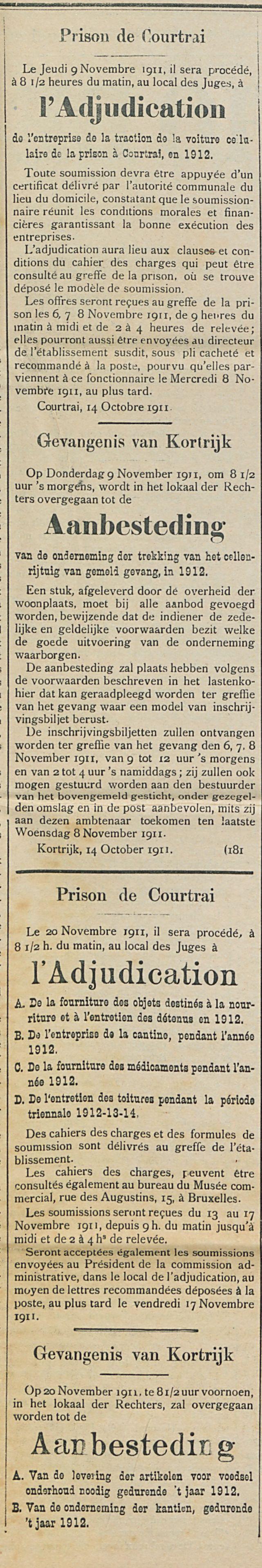 Prison de Courtrai