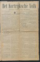 Het Kortrijksche Volk 1914-03-15 p1