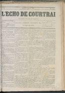 L'echo De Courtrai 1876-09-03