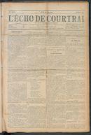 L'echo De Courtrai 1910-06-30 p1