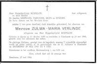 Zulma-Marie Verlinde