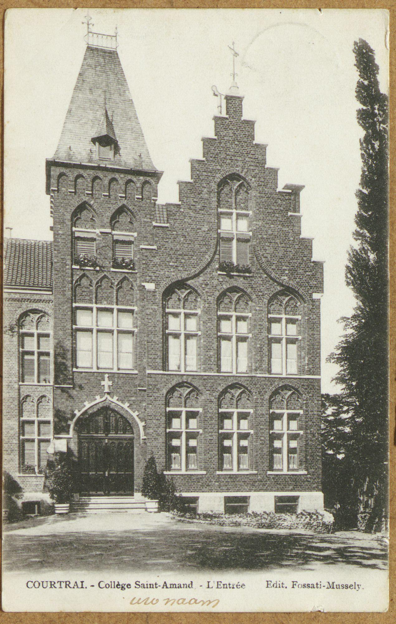 Ingang van het Sint-Amandscollege