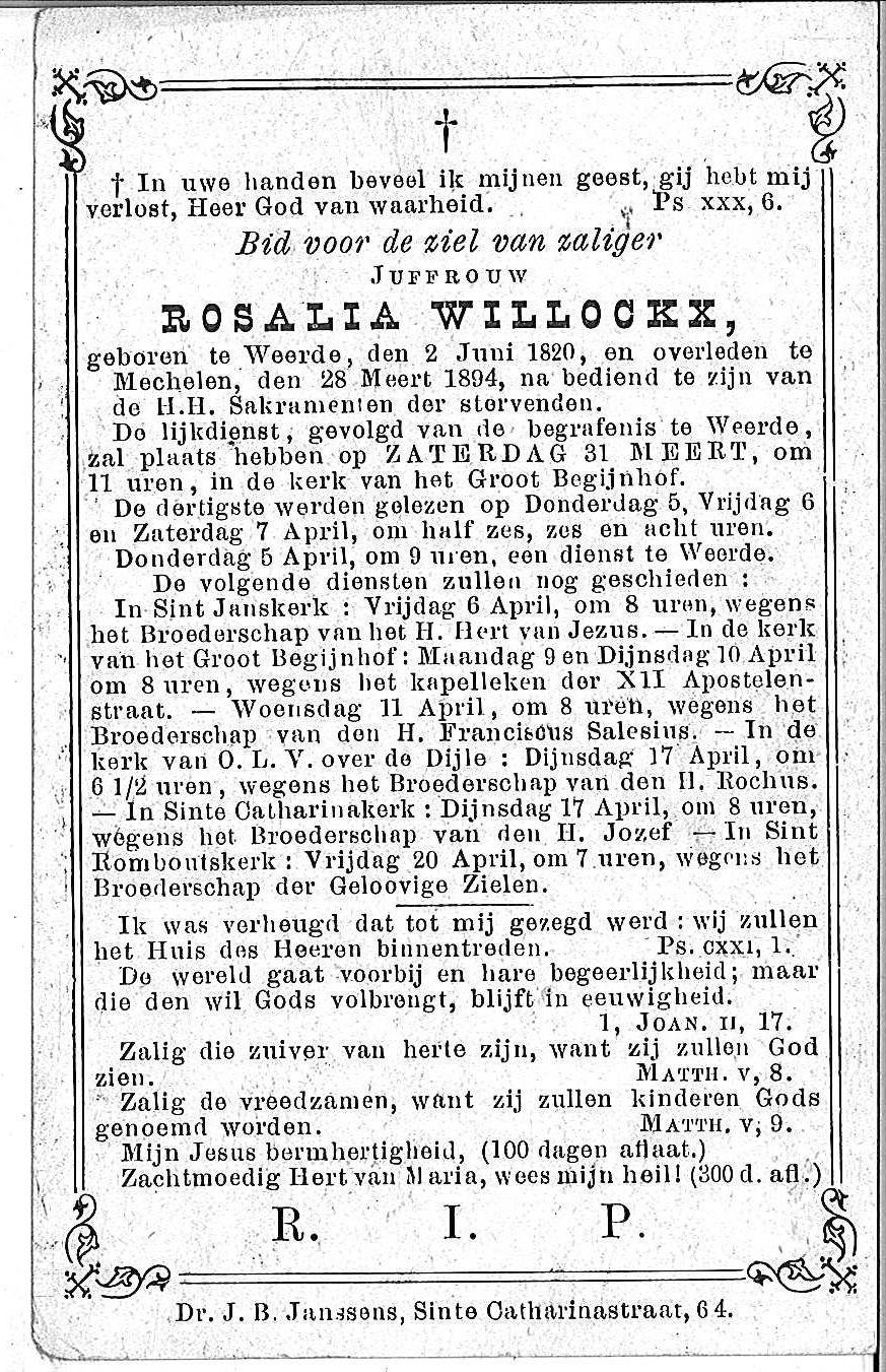 Rosalia Willockx