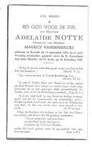Adelaide Notte (deel 1/2)