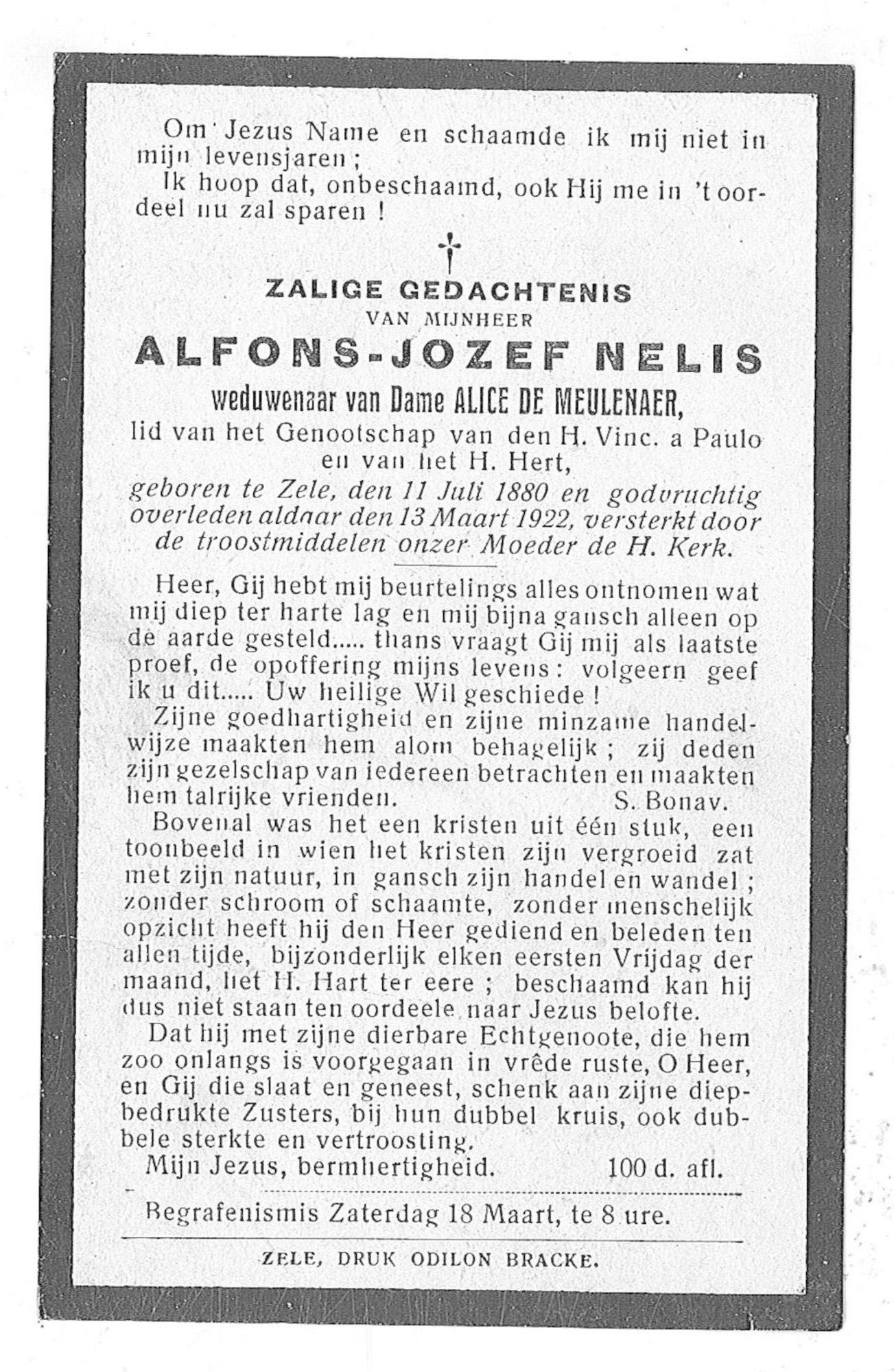 Alfons-Jozef Nelis