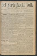 Het Kortrijksche Volk 1911-05-07