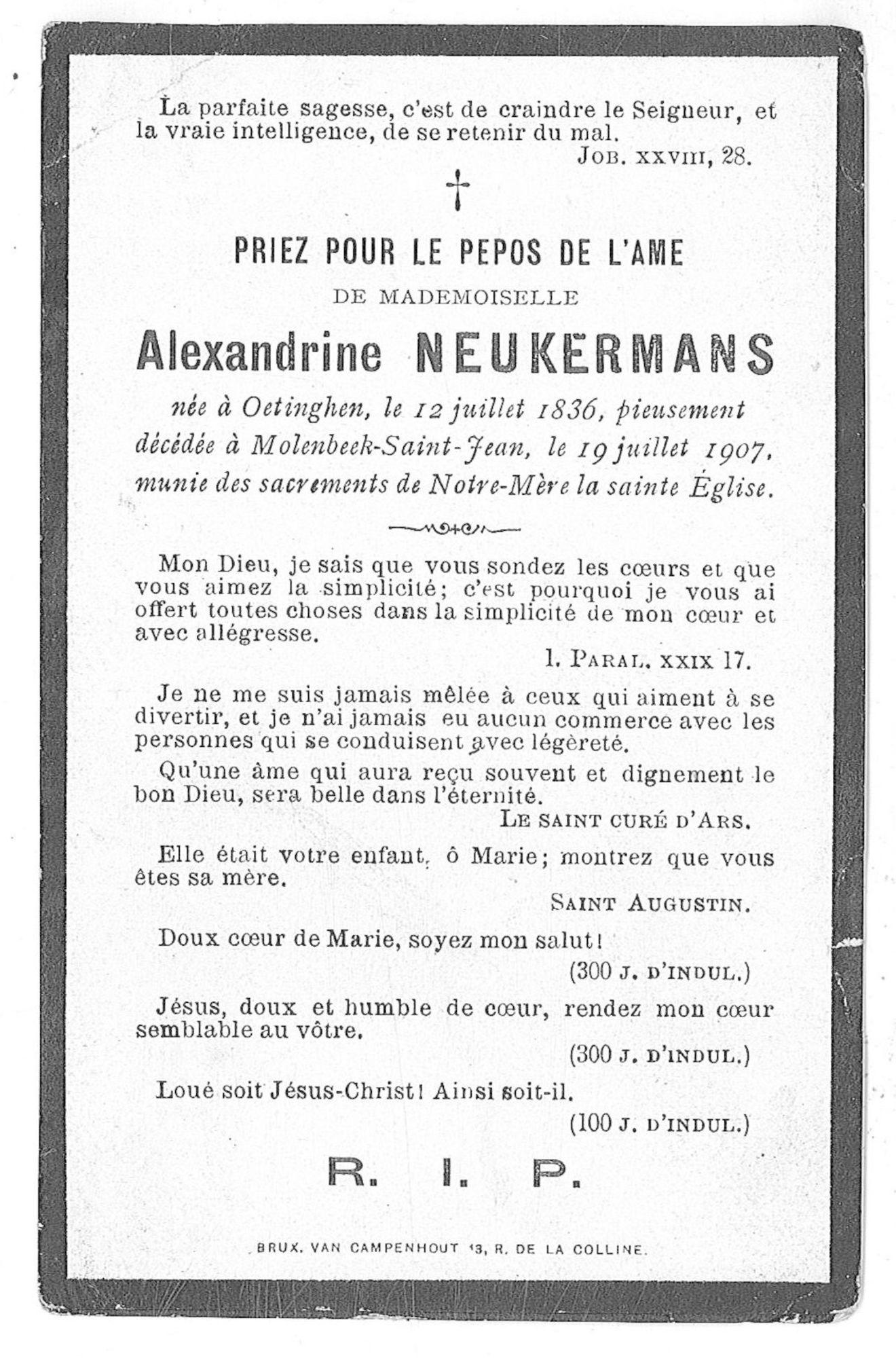Alexandrine Neukermans