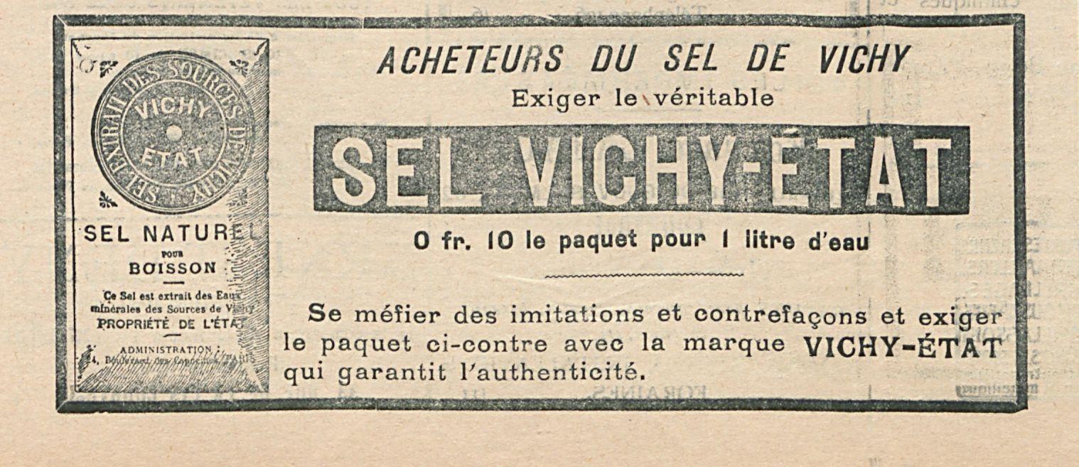 SEL VICHY-ETAT