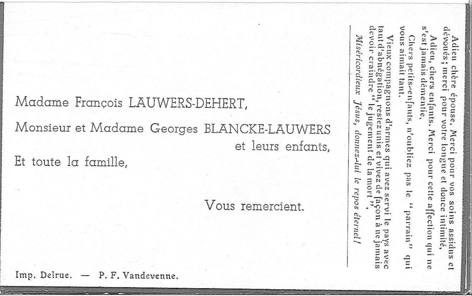 Lauwers François