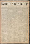 Gazette van Kortrijk 1916-04-08 p1