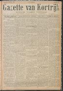 Gazette van Kortrijk 1916-04-22