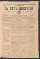 De Stad Kortrijk 1909-11-20
