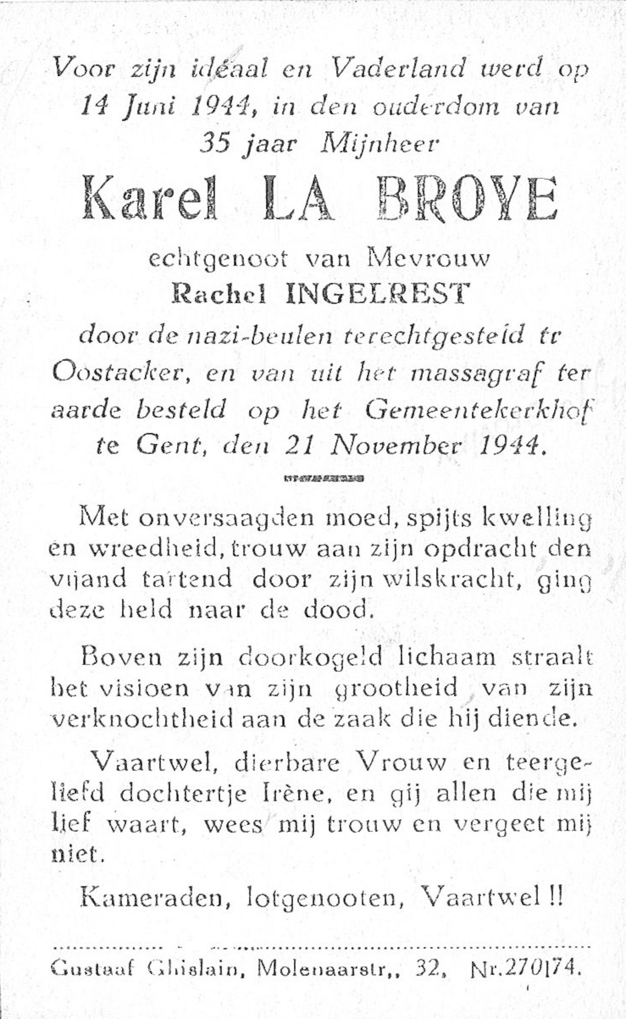 Karel La Broye
