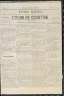 L'echo De Courtrai 1857-01-09