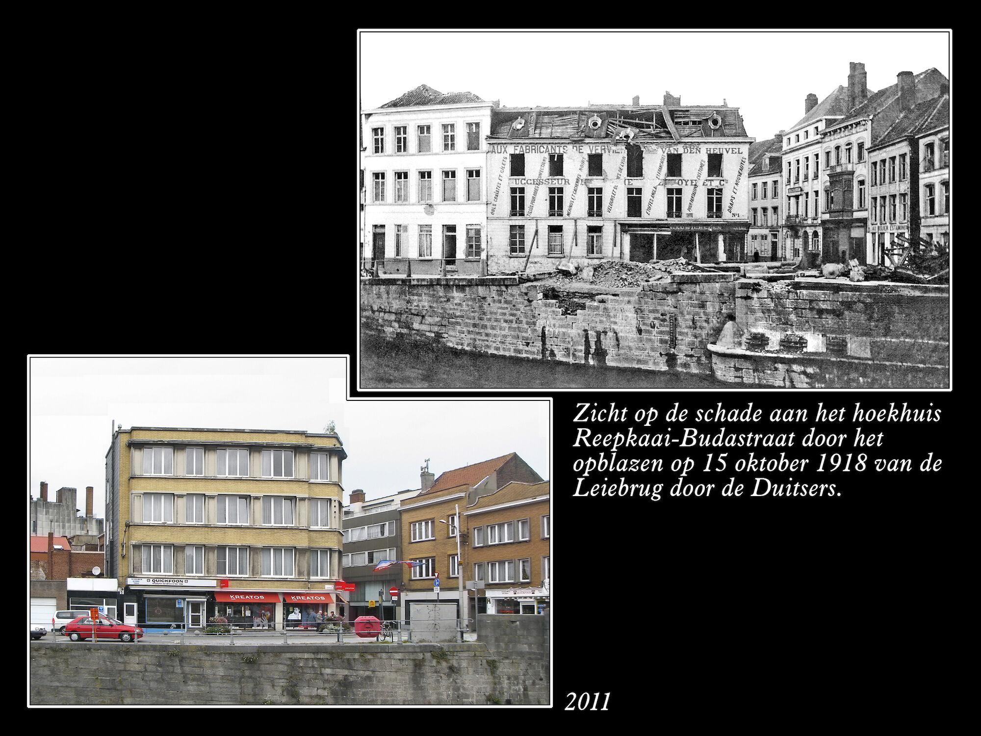 Hoek Reepkaai en Budastraat