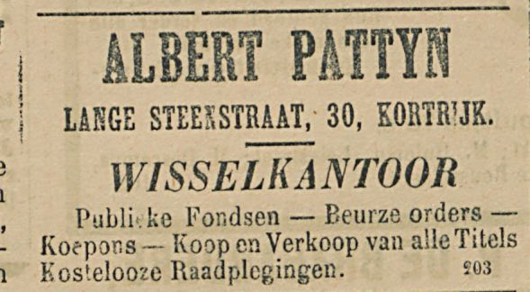 ALBERT PATTYS