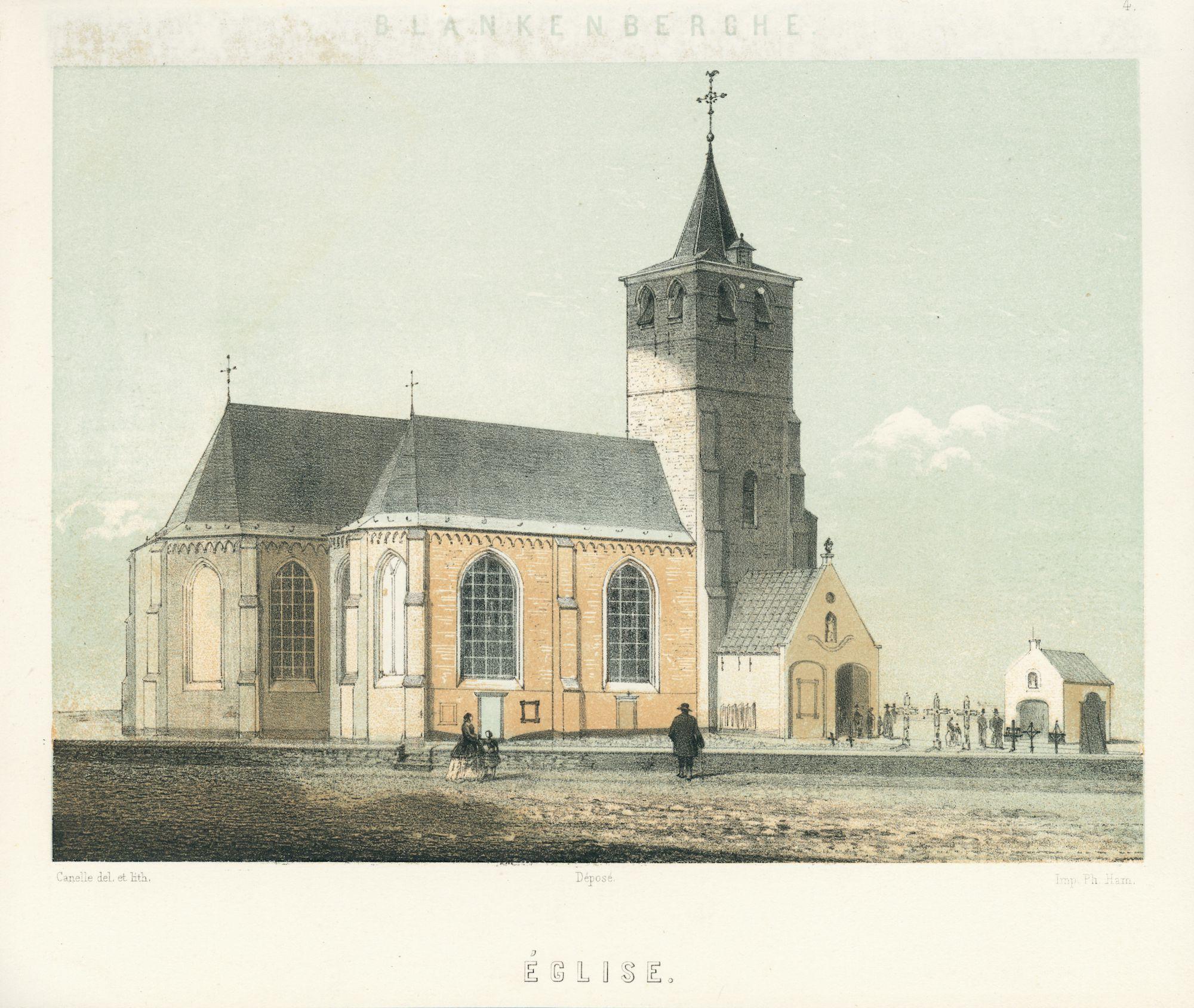 Westflandrica -  de Sint-Antoniuskerk van Blankenberge
