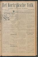 Het Kortrijksche Volk 1913-03-09