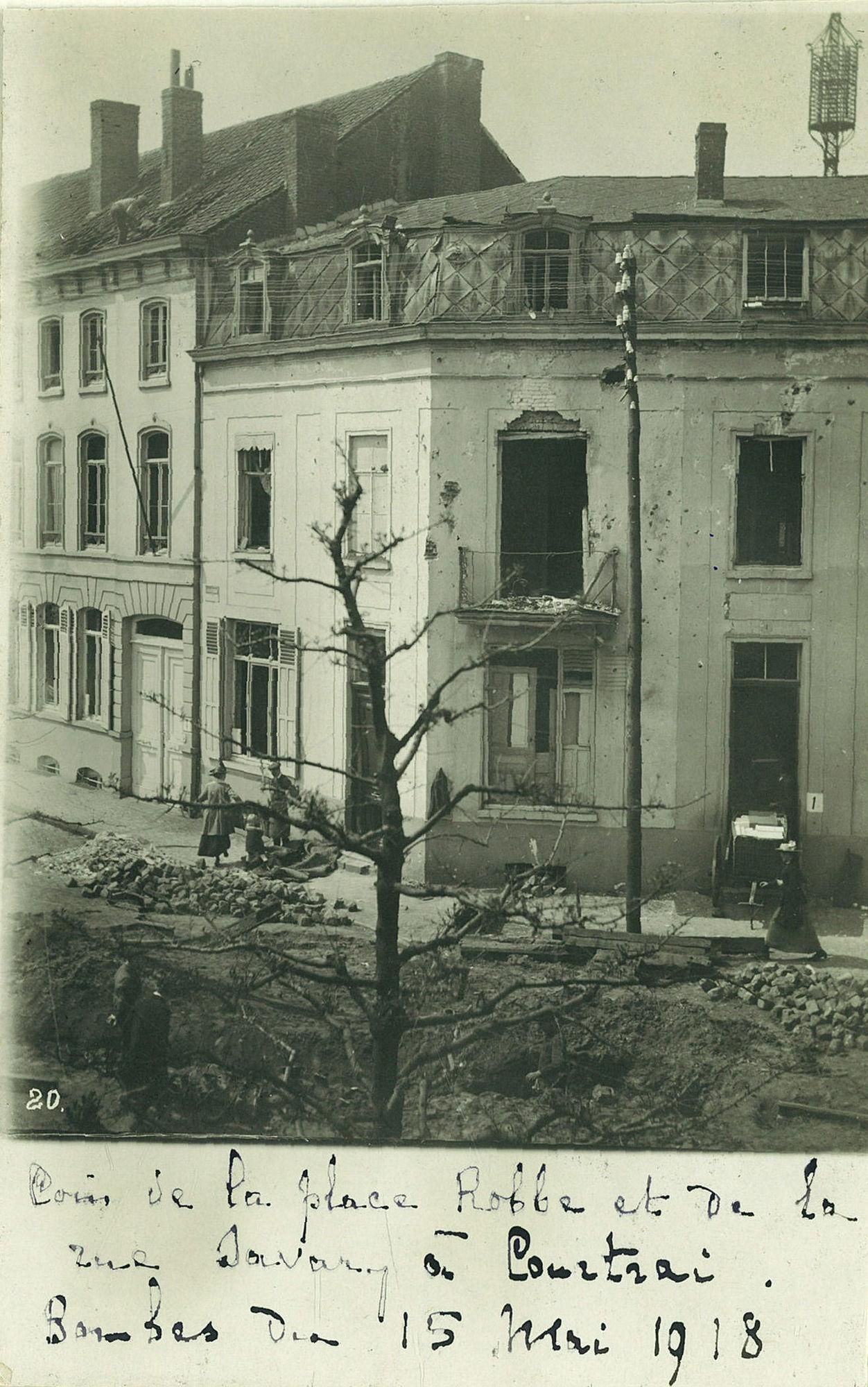 Oorlogsschade tijdens Wereldoorlog I