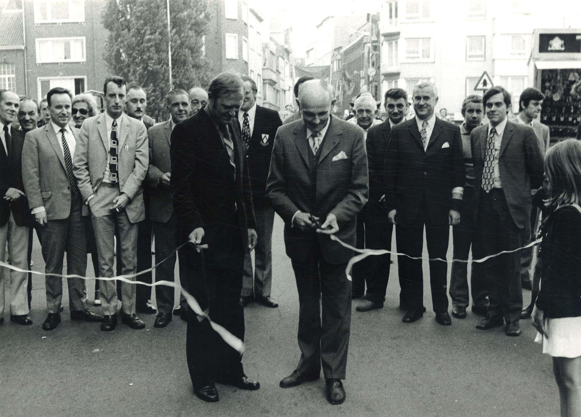 Opening braderie 1973