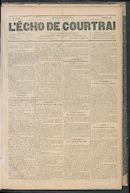 L'echo De Courtrai 1889-04-21