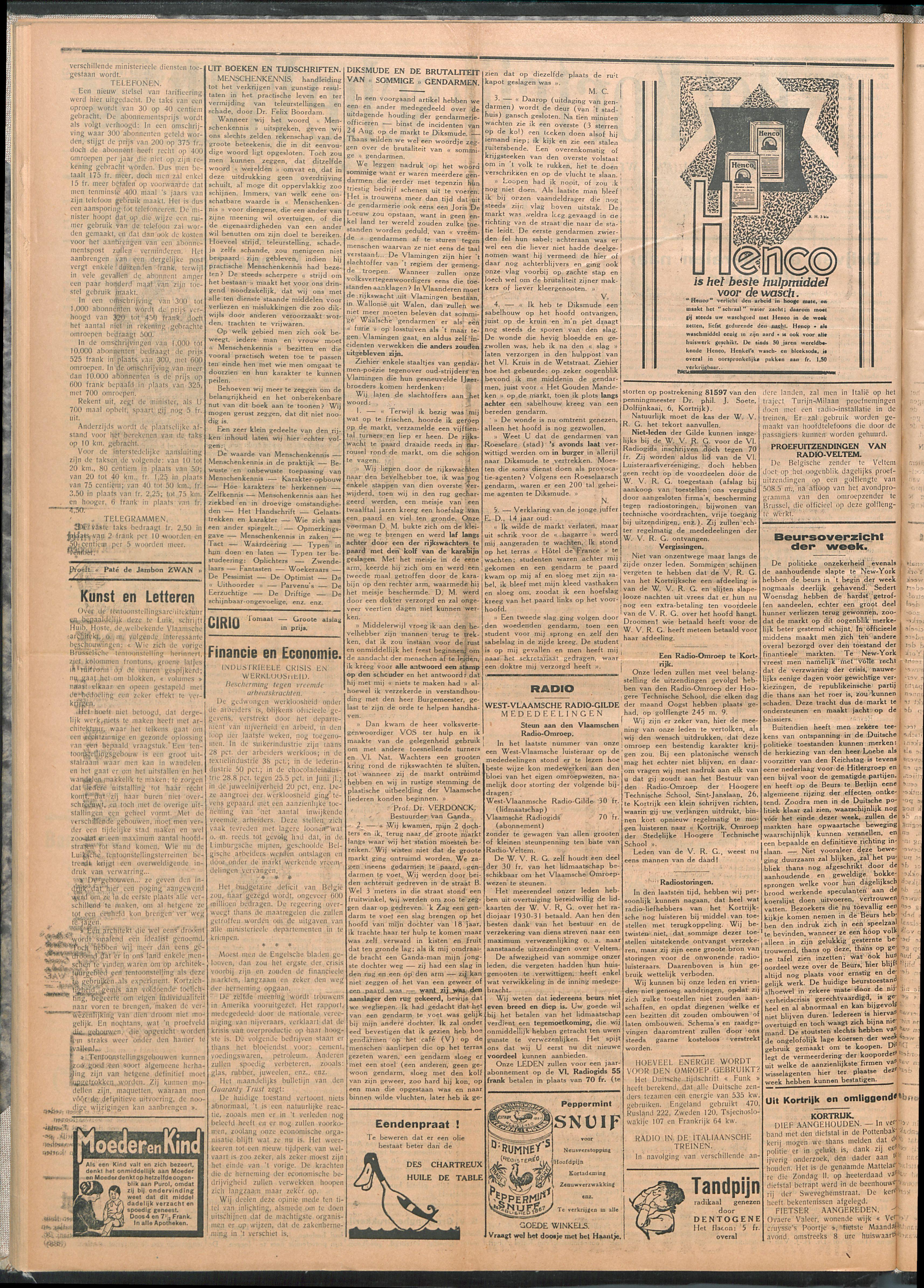 Het Kortrijksche Volk 1930-10-19 p2