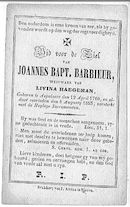 Joannes Baptiste Barbieur