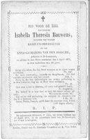 Isabella Theresia Bauwens