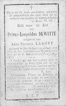 Petrus-Leopoldus Dewitte