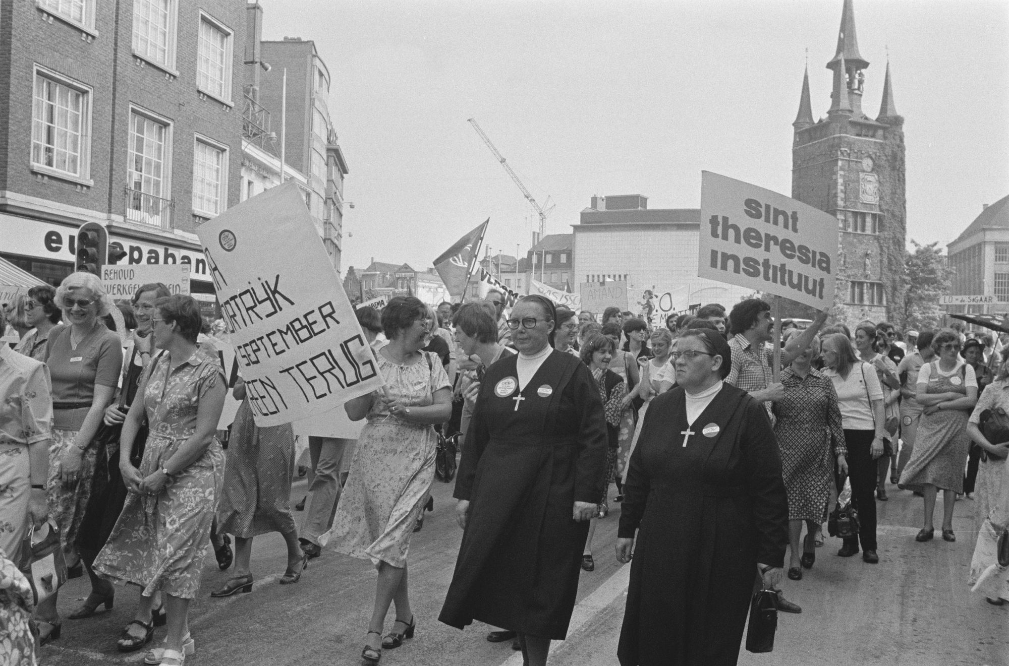 Betoging van het onderwijs in 1980