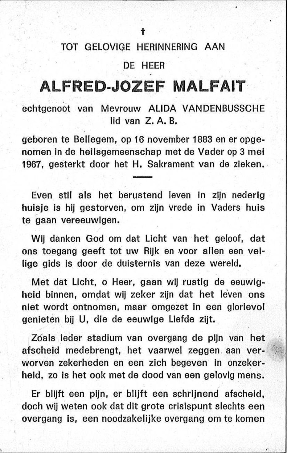 Alfred-Jozef Malfait