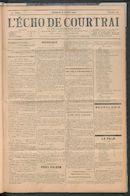 L'echo De Courtrai 1907-10-06