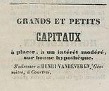 GRANDS ET PETITS CAPITAUX