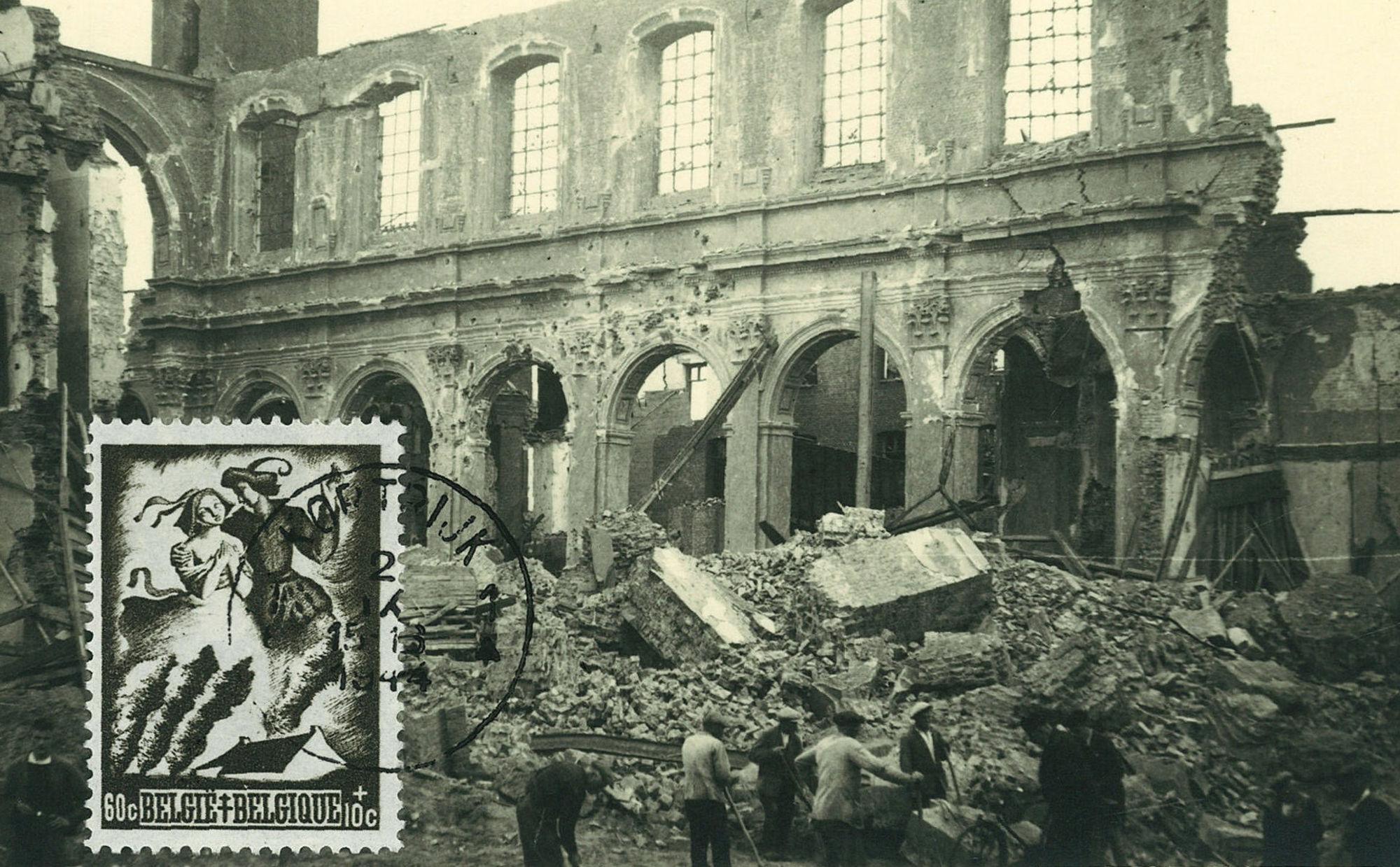 De Sint-Jozefkerk 21 Juli 1944