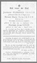 Florence, Marie-Silvie en Jules Ignon