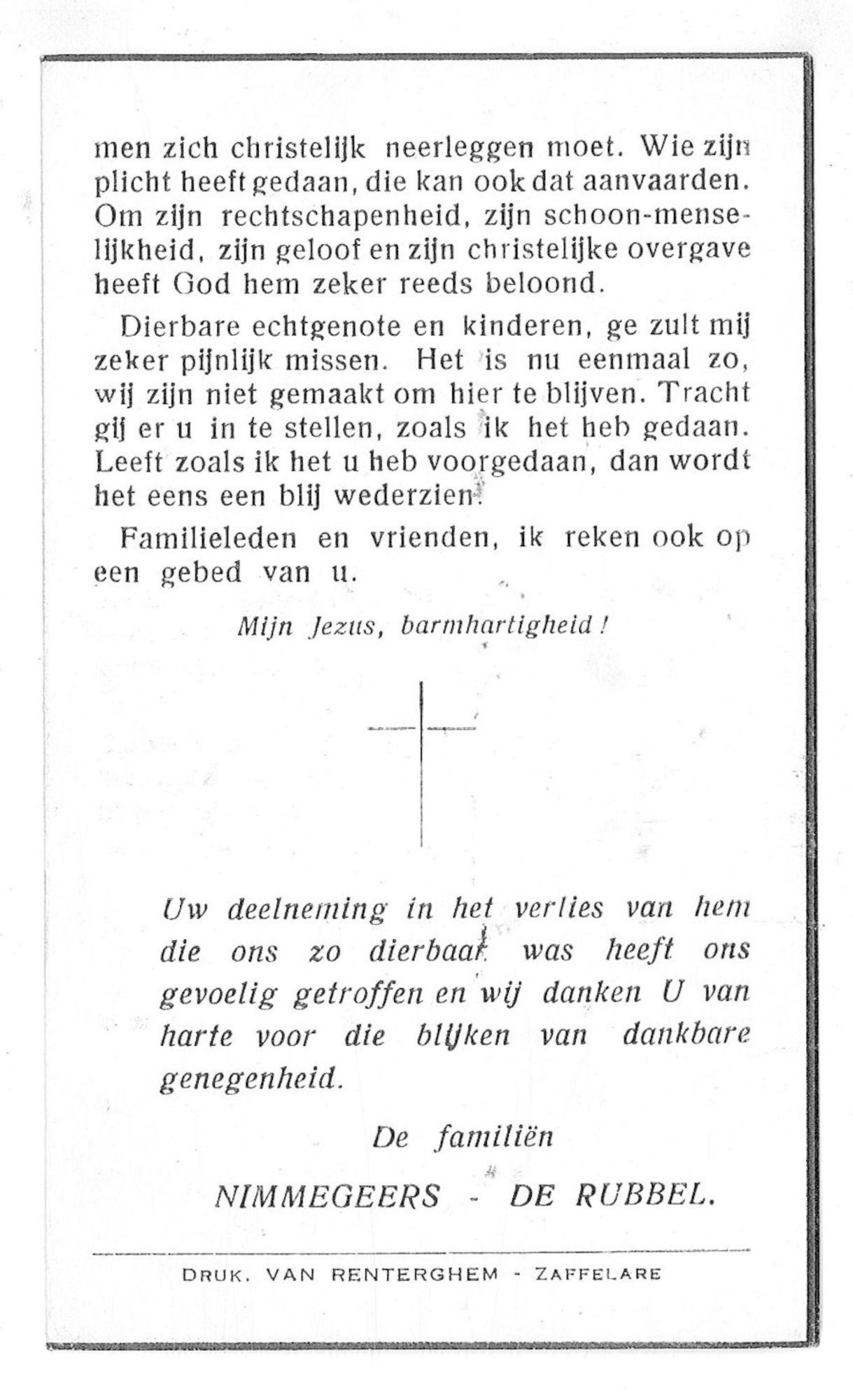 Alfons Nimmegeers