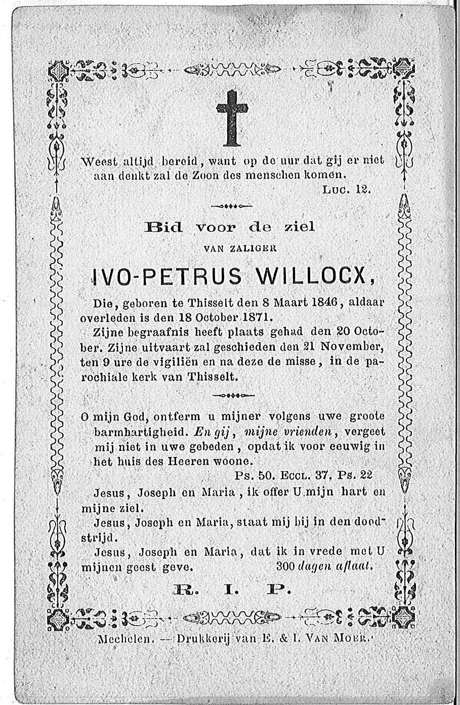 Ivo-Petrus Willockx
