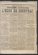 L'echo De Courtrai 1873-10-12