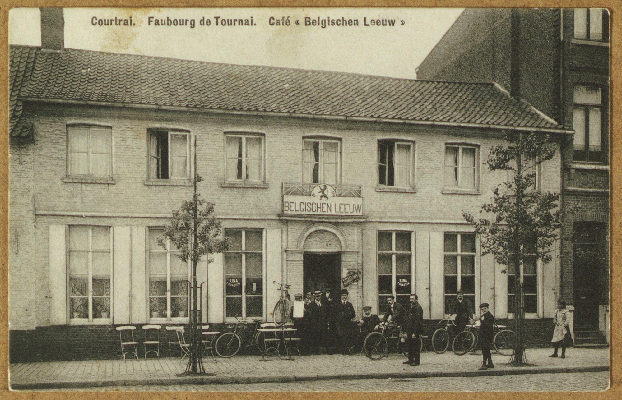 Café Belgischen Leeuw in de Doorniksewijk