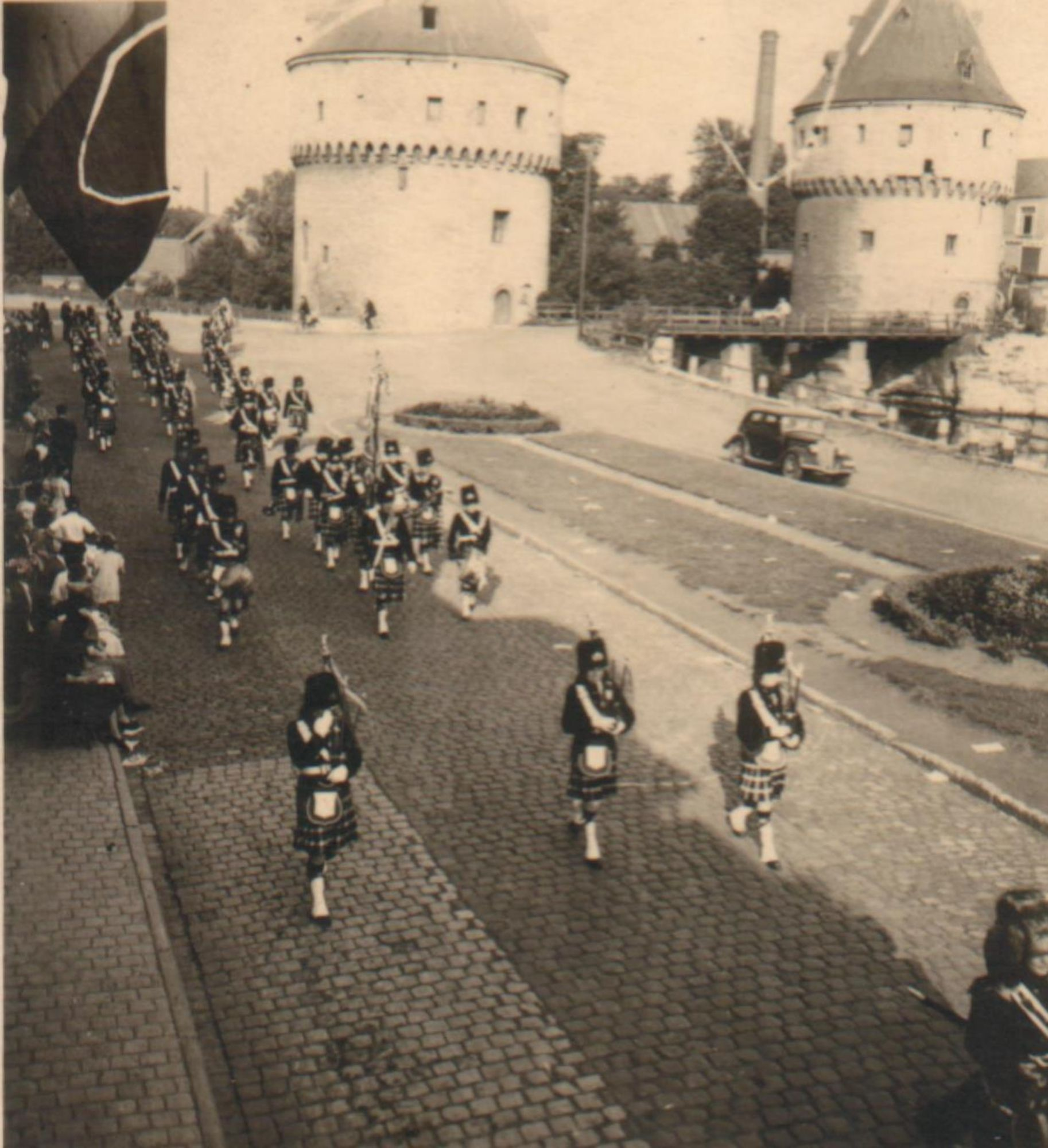 Carnaval stoet zomer 1948 of 1948.