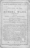 Achiel Maes