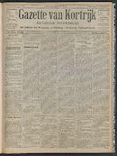 Gazette Van Kortrijk 1908-07-09 p1