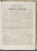 L'echo De Courtrai 1859-01-23
