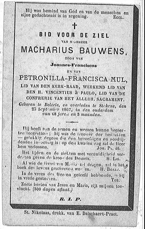 Macharius Bauwens
