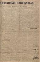 Kortrijksch Handelsblad 14 november 1945 Nr91
