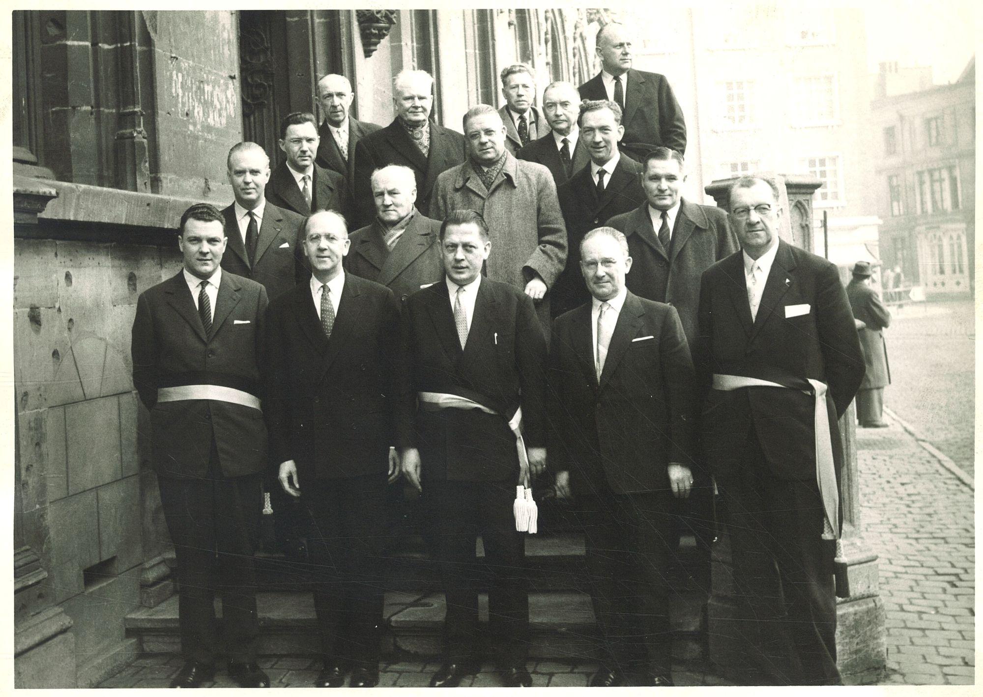 Bezoek consul-generaal George Wilson